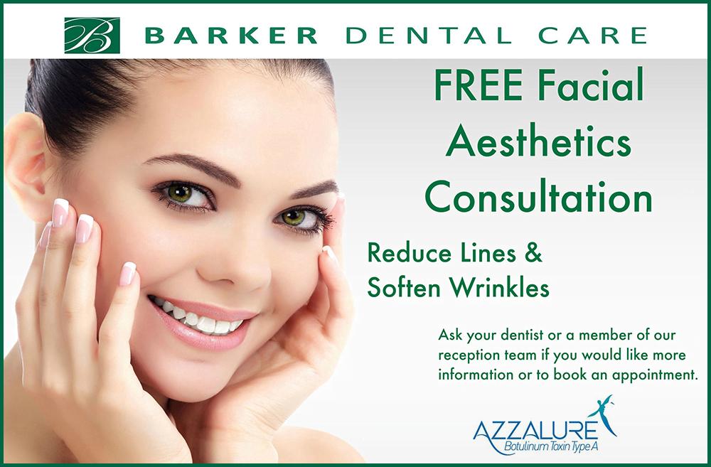 Barker Dental Care Facial Aesthetics Poster